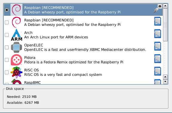 Raspberry Pi: Für die Installation hilft NOOBS