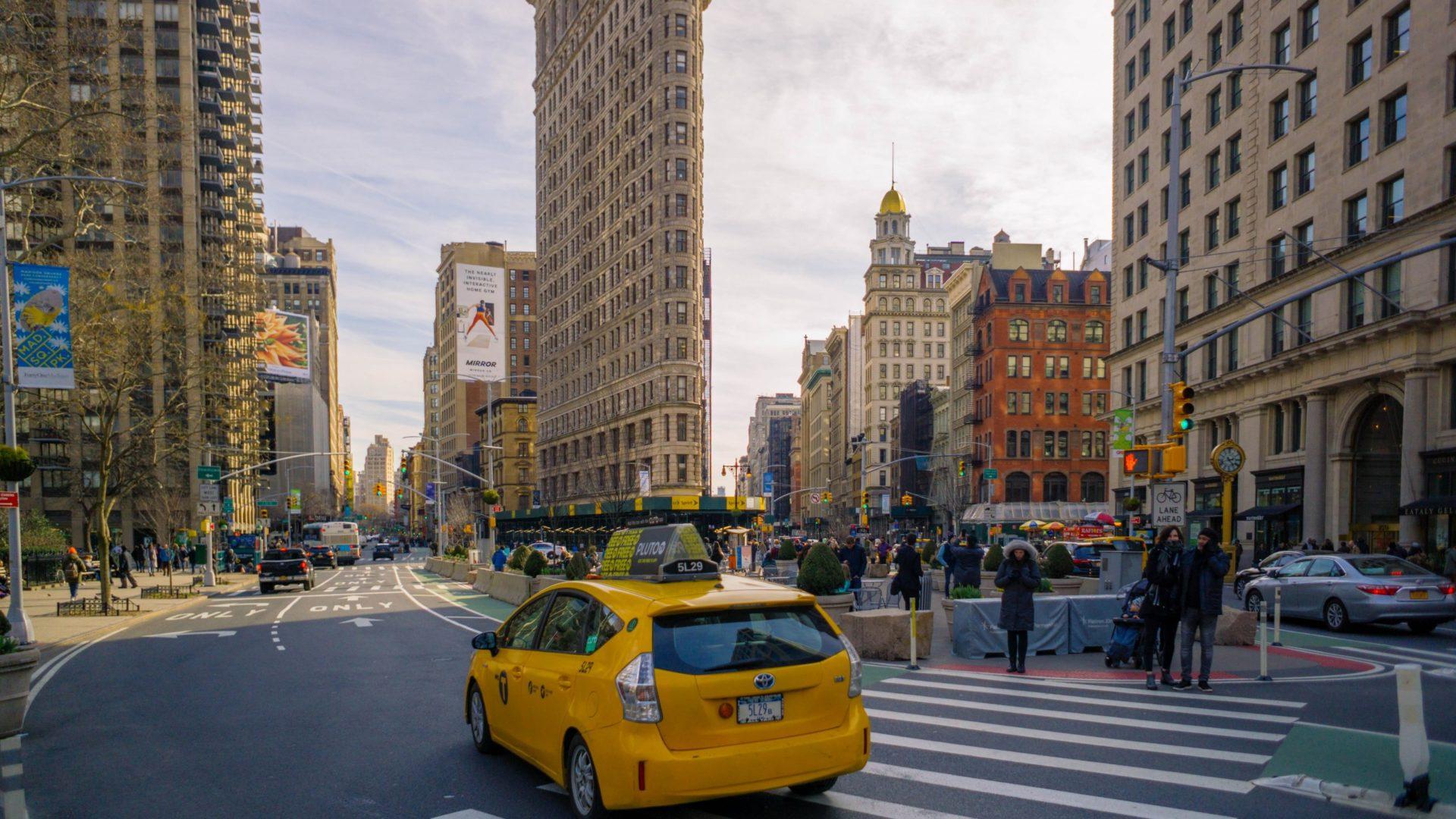 Flatiron Building in New York, USA