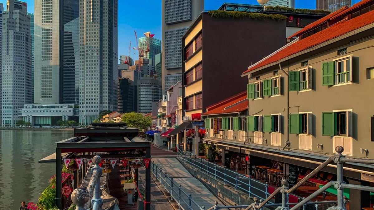 12 Stunden Zwischenstopp in Singapur
